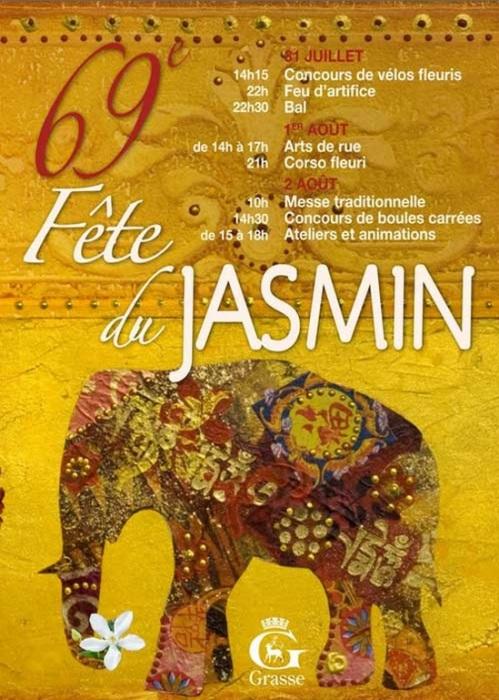 Fête du Jasmin Affiche 2015