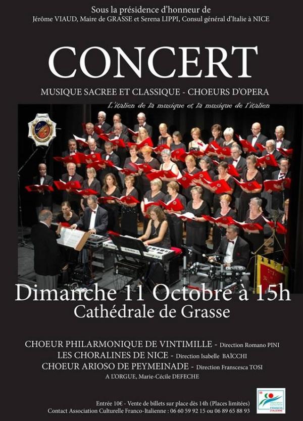 Concert Musique Sacrée Cathédrale Grasse