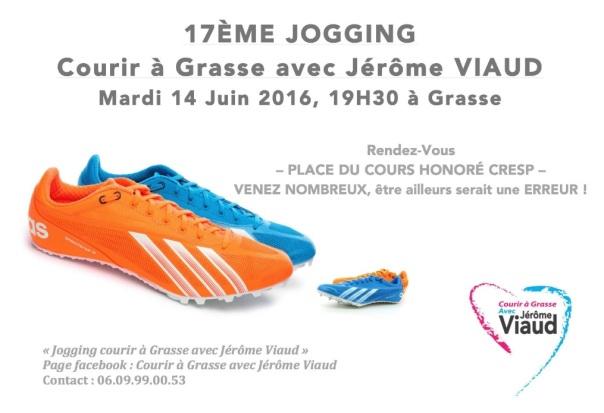 17° Jogging Courir à Grasse