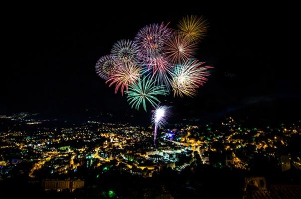 Grasse Feu d'artifice